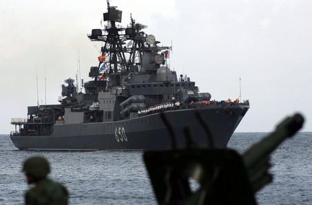APTOPIX Venezuela Russia