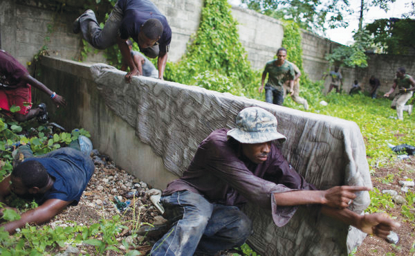 A rogue paramilitary group has established a presence in Haiti by parading around both Haiti's capital and the countryside dressed in mismatched military uniforms and carrying assorted weapons. This group of veterans and new recruits has begun to threaten the sensitive security situation in Haiti, demanding the reinstatement of the...