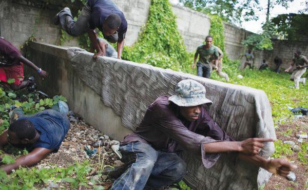Haitian-paramilitary-training-2011-by-Andres-Martinez-Casares-NYT