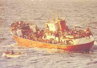 Mariel Boatlift Photo Source: U.S. Coast Guard