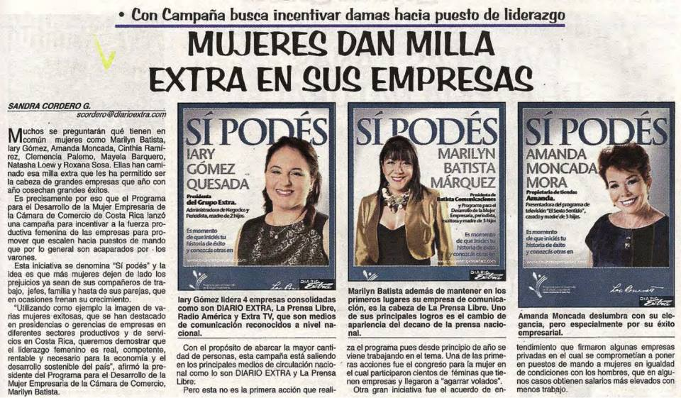 Mujeres Dan Milla-Diario Extra