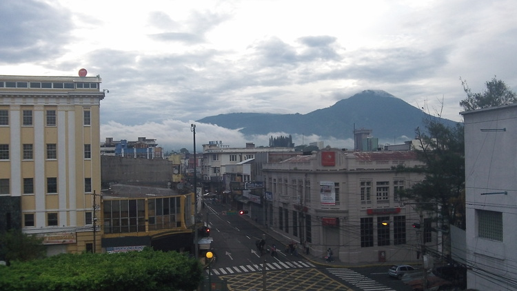 Downtown San Salvador at dusk. Photo source: Danielle Marie Mackey
