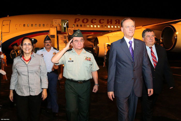 Russian delegation arrives in Nicaragua, Photo Source: Source: www.el19digital.com