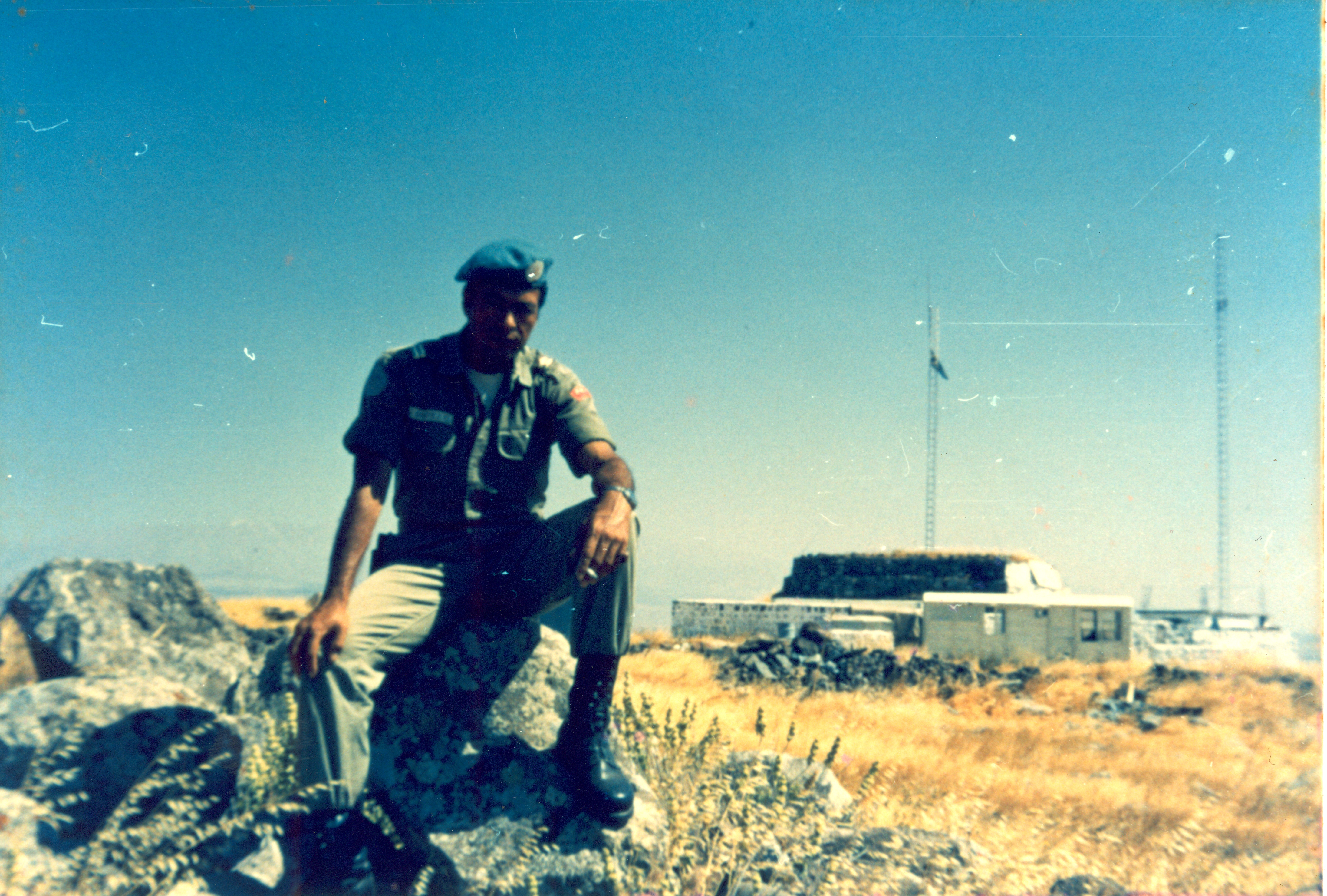 Peruvian Peacekeeper circa 1974 - Copyright Wilder Sanchez