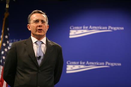 Former President Álvaro Uribe Vélez