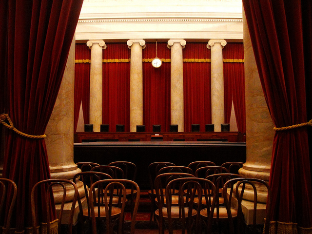 "Image by: kenudigit, ""US Supreme Court Court Room,"" Flickr Creative Commons"