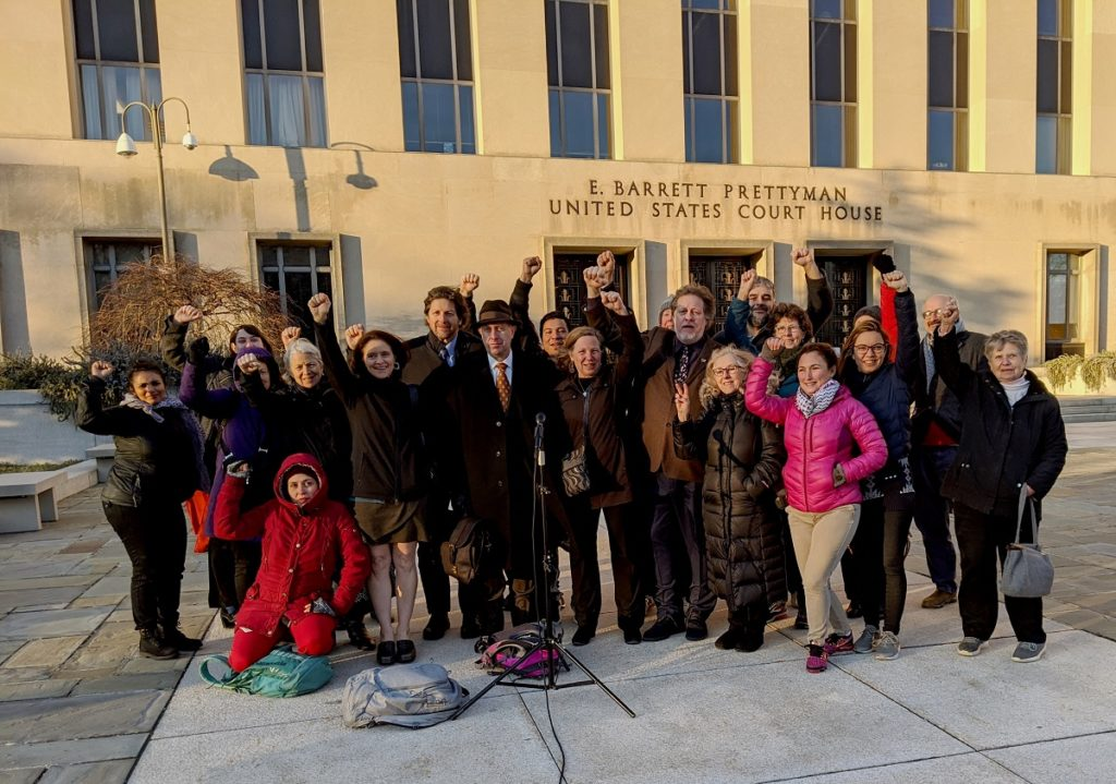 Protectors of the Venezuelan Embassy declare victory after federal charges are dropped